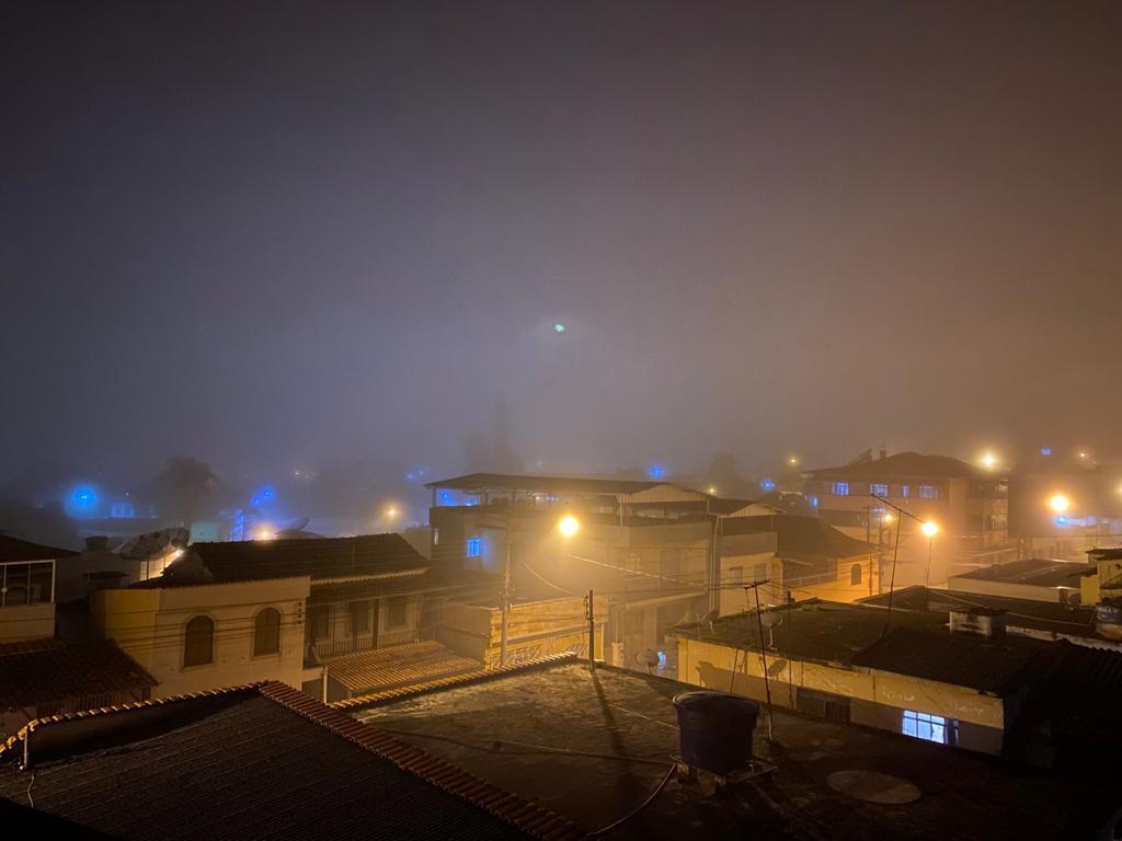 Vista Noturna de Barbacena em 2020.